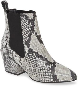 Matisse Morgan Snake Embossed Boot
