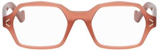 Loewe Red Hexagonal Glasses