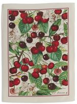 "Sur La Table Black Cherry Kitchen Towel, 28"" x 20"""