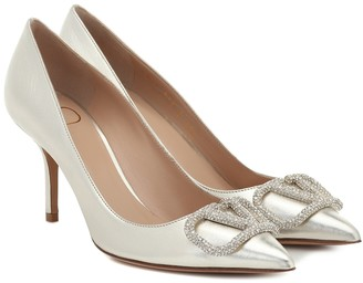 Valentino VLOGO leather pumps