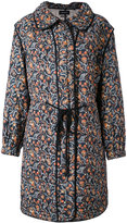 Isabel Marant quilted floral coat - women - Silk/Cotton - 36