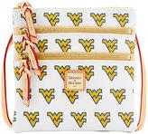 Dooney & Bourke West Virginia Mountaineers Triple-Zip Crossbody Bag