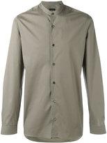 Z Zegna plain long sleeve shirt