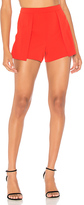 Alice + Olivia Larissa Short in Red