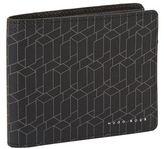 Boss Bifold Geometric Print Wallet