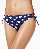 California Waves Flag-Print Hipster Bikini Bottoms