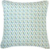 House of Fraser Nitin Goyal Small Braids cushion in blue 45x45