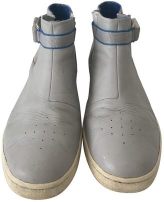 Umbro X Kim Jones Grey Leather Boots