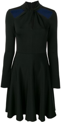 Givenchy fit-and-flare dress with cut-outs
