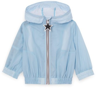 Burberry Kids Hooded Logo Jacket (6-24 Months)