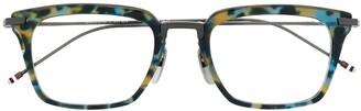 Thom Browne Tortoiseshell Effect Glasses