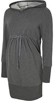 Mama Licious Mamalicious Karla Long Sleeve Maternity Sweatshirt, grey Melange