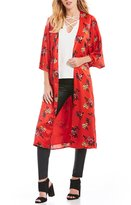 GB Floral Print Kimono