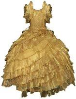 Calla Collection USA Calla Collection Big Girls Diagonal Ruffles Pageant Dress