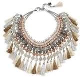 Rosantica Geranio Quartz & Sun Stone Collar Necklace