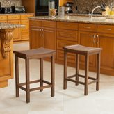 Christopher Knight Home Easton Slat Counter Stool (Set of 2)