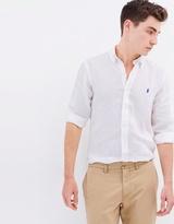 Polo Ralph Lauren LS Slim Linen Shirt