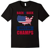 American Apparel National Independence Day T-Shirt, America World War Champs