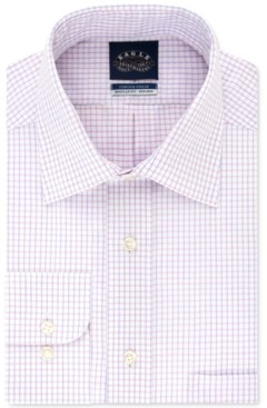 Eagle Men's Classic-Fit Gingham Dress Shirt