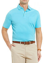 Daniel Cremieux Solid Supima Cotton Short Sleeve Solid Polo Shirt