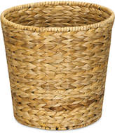 Household Essentials Water Hyacinth Wicker Waste Basket