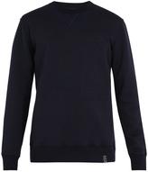 Lanvin Logo-patch wool-blend jersey sweatshirt
