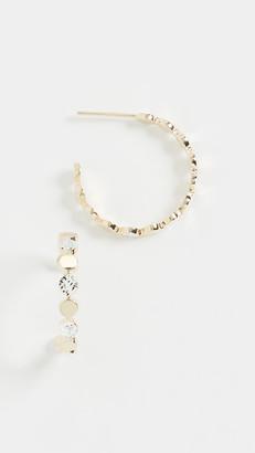 Jennifer Zeuner Jewelry Bea Small Hoops