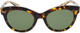 Oliver Peoples The Row Georgica Tortoise Sunglasses