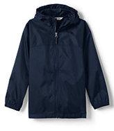 Lands' End Little Boys Navigator Rain Jacket-Persian Cobalt