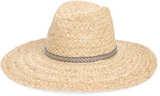 Treasure & Bond Braided Straw Panama Hat