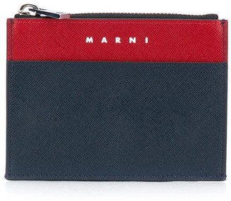 Marni Colour Block Coin Cardholder
