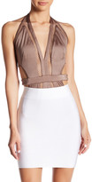 Wow Couture Mesh Contrast Bodysuit