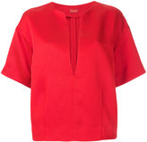 TOMORROWLAND deep V neck blouse