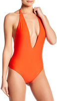 Mikoh Hinano Halter One-Piece Swimsuit