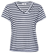 LnA Stripe Fallon V-neck Tee
