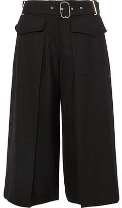 Acne Studios Inez Belted Wool-twill Culottes