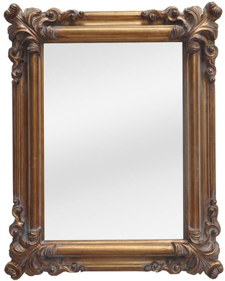 Emac & Lawton Saint Denis Mirror Antique Gold