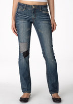Lacy Stretch Straight-Leg Jean