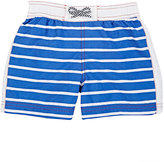 Petit Bateau STRIPED SWIM TRUNKS-BLUE SIZE 12
