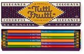 Chronicle Books Tutti Frutti Colored Pencils