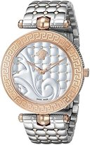 Versace Women's VK7230015 Vanitas Analog Display Swiss Quartz Two-Tone Watch