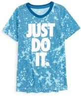Nike Boy's Sportswear Just Do It Graphic T-Shirt