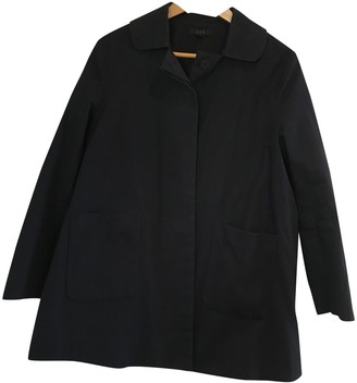 Cos Navy Cotton Jacket for Women