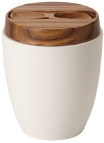 Villeroy & Boch Artesano Covered Tea Canister with Spoon
