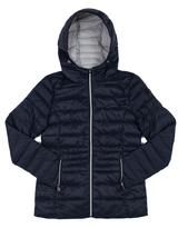 Point Zero Navy Hooded Puffer Jacket