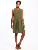 Old Navy Pintuck Swing Dress for Women