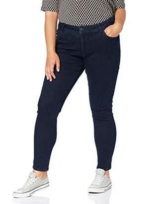Tom Tailor MY TRUE ME Women's Basic Skinny Jeans, (Dark Dye Blue Denim 10133), 28 (Size: )