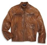Ralph Lauren Toddler's, Little Boy's & Boy's Quilted Leather Jacket