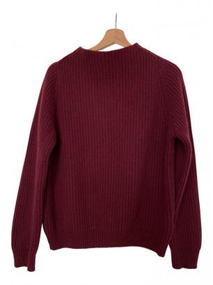 Anine Bing Fall Winter 2019 Burgundy Cashmere Knitwear