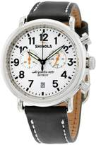 Shinola The Runwell Chrono Dial Black Leather Men's WatchItem No. S0100098